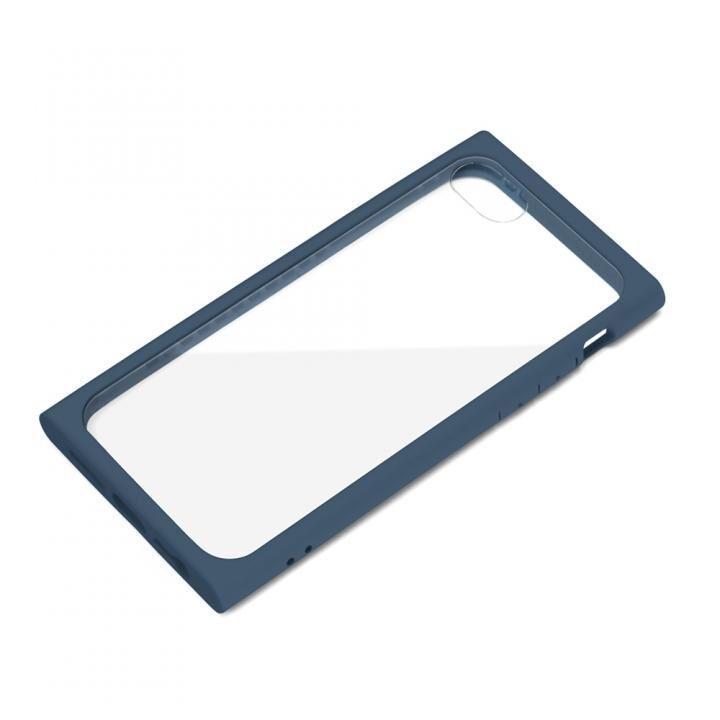 ガラスタフケース ネイビー iPhone SE 第2世代_0