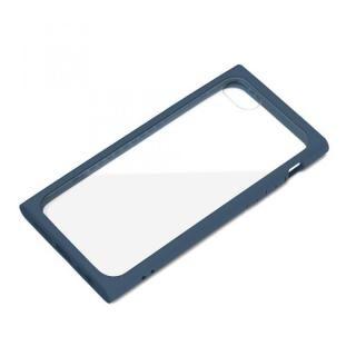 iPhone SE 第2世代 ケース ガラスタフケース ネイビー iPhone SE 第2世代