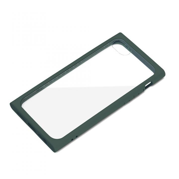 ガラスタフケース モスグリーン iPhone SE 第2世代_0