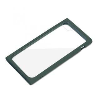 iPhone SE 第2世代 ケース ガラスタフケース モスグリーン iPhone SE 第2世代