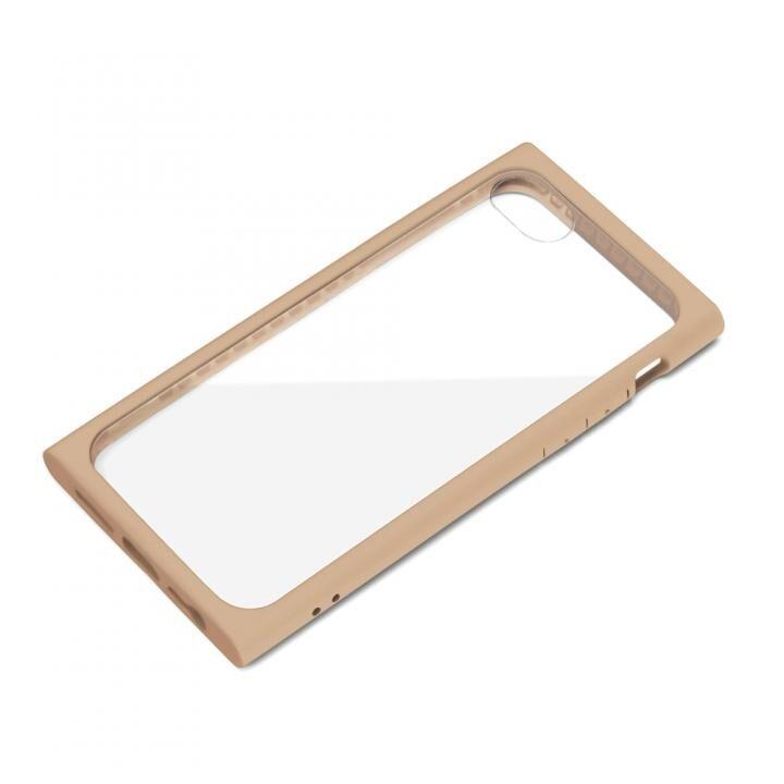 ガラスタフケース ベージュ iPhone SE 第2世代_0