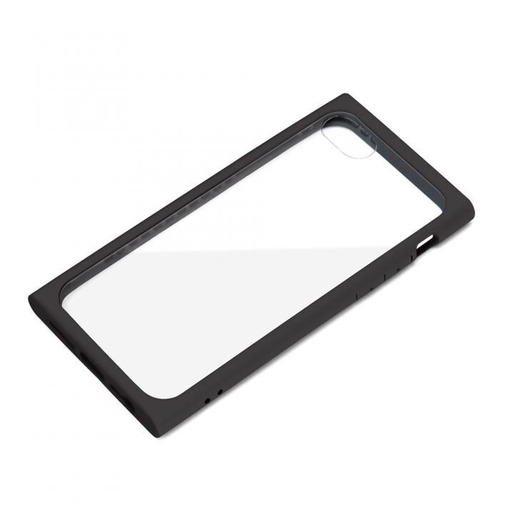 ガラスタフケース ブラック iPhone SE 第2世代_0