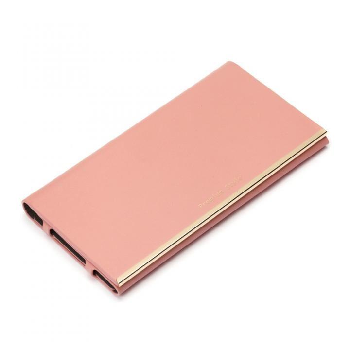 オールPUレザーフリップカバー ピンク iPhone SE 第2世代_0