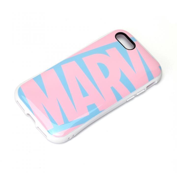 ハイブリッドタフケース ロゴ/ピンク&ブルー iPhone SE 第2世代_0