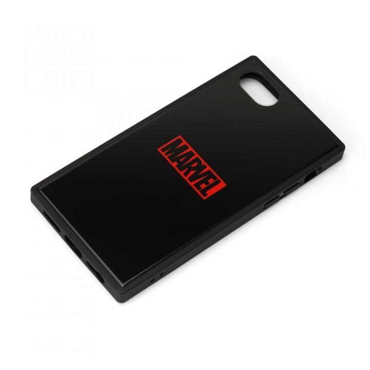ガラスハイブリッドケース ロゴ/ブラック iPhone SE 第2世代_0