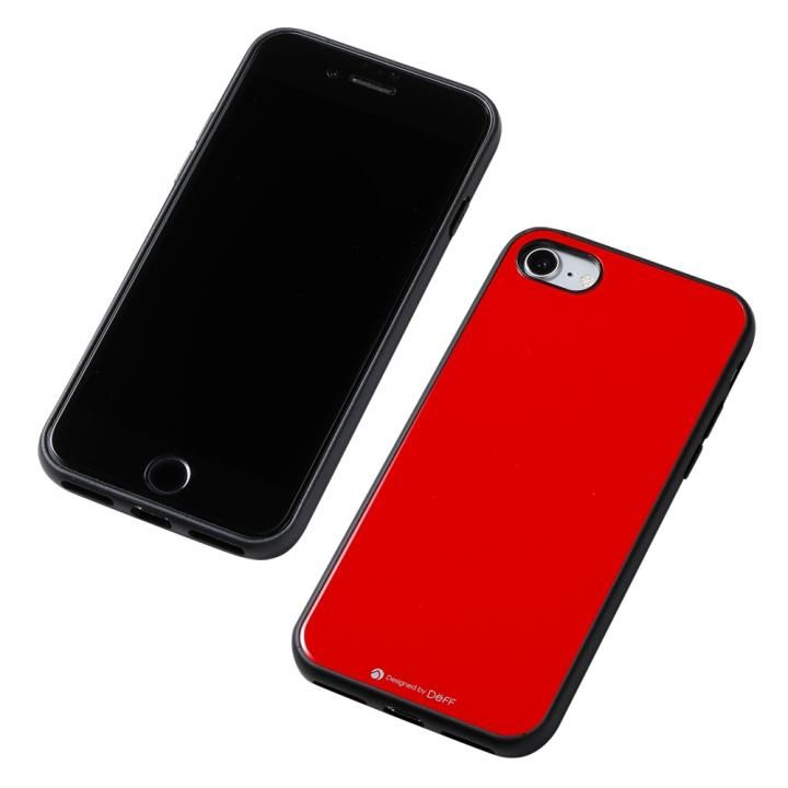 Hybrid Case Etanze レッド iPhone SE 第2世代_0