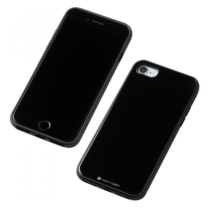 Deff Hybrid Case Etanze ブラック iPhone SE 第2世代_0