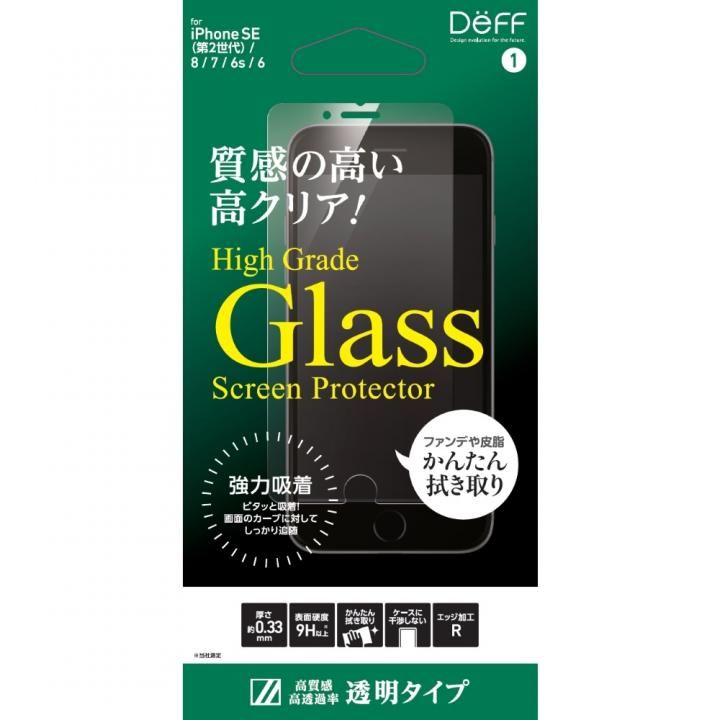 High Grade Glass Screen Protector 光沢 iPhone SE 第2世代_0