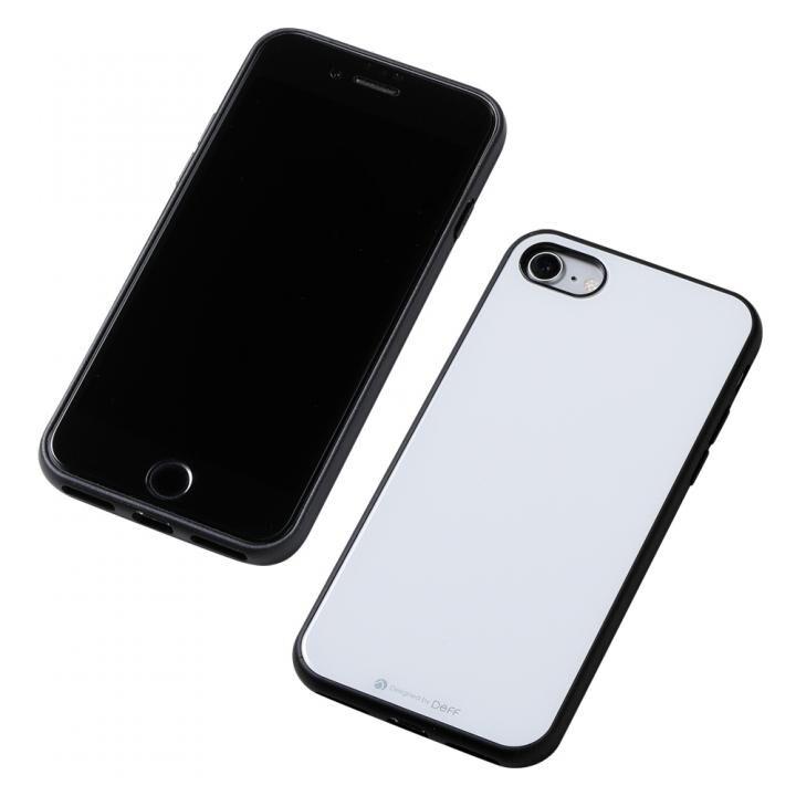Deff Hybrid Case Etanze ホワイト iPhone SE 第2世代_0