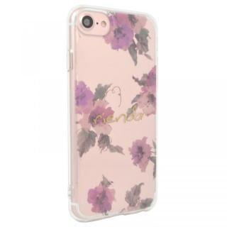 iPhone SE 第2世代 ケース rienda TPUクリアインモールドケース Parm Flower iPhone SE 第2世代