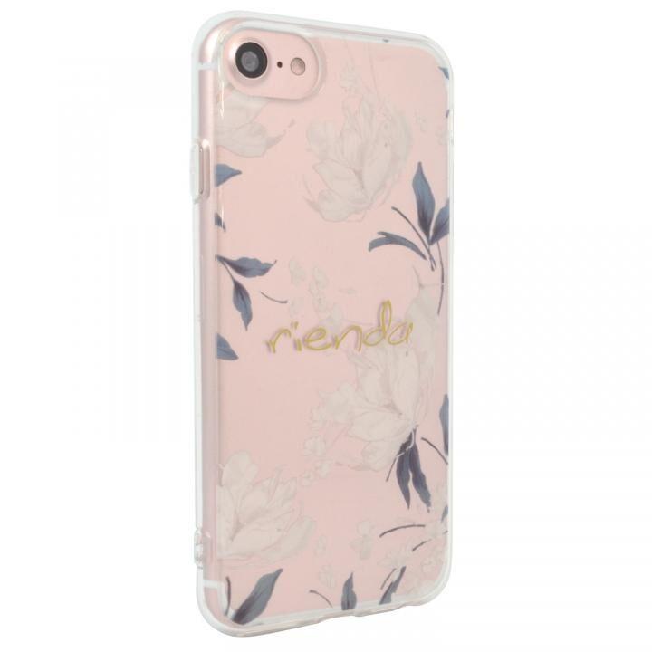 rienda TPUクリアインモールドケース Grace Flower iPhone SE 第2世代_0