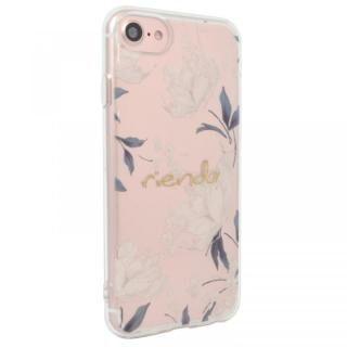 iPhone SE 第2世代 ケース rienda TPUクリアインモールドケース Grace Flower iPhone SE 第2世代