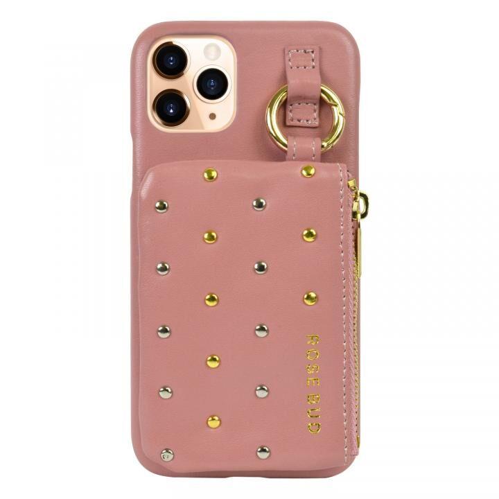 iPhone 11 Pro ケース ROSEBUD コインケース付き背面ケース ピンク iPhone 11 Pro_0