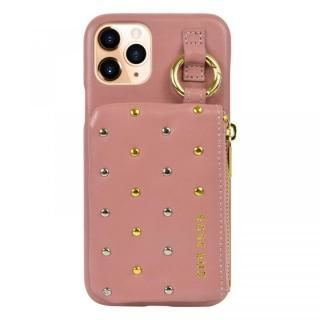 iPhone 11 Pro ケース ROSEBUD コインケース付き背面ケース ピンク iPhone 11 Pro