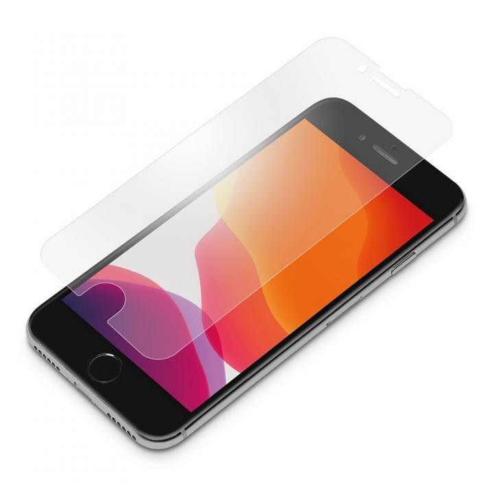 貼り付けキット付き 液晶保護ガラス アンチグレア iPhone SE 第2世代_0