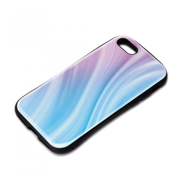 ハイブリッドタフケース パープル iPhone SE 第2世代_0