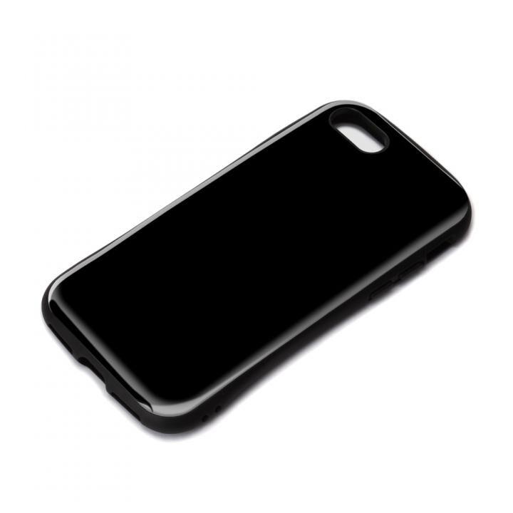 ハイブリッドタフケース ブラック iPhone SE 第2世代_0