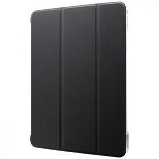 背面クリアフラップケース「Clear Note」 ブラック iPad Pro 2020 11インチ