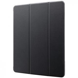 背面クリアフラップケース「Clear Note」 ブラック iPad Pro 2020 12.9インチ