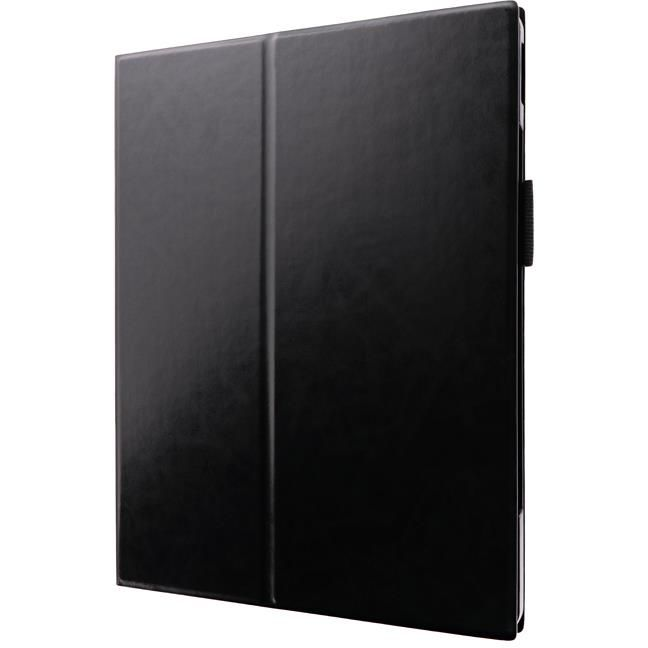 薄型PUレザーフラップケース「PRIME」 ブラック iPad Pro 2020 12.9インチ_0
