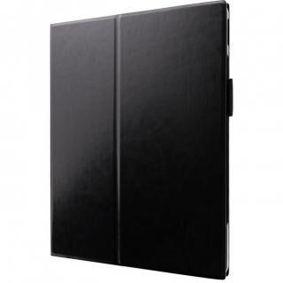 薄型PUレザーフラップケース「PRIME」 ブラック iPad Pro 2020 12.9インチ