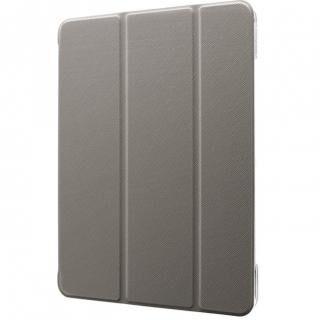 背面クリアフラップケース「Clear Note」 グレー iPad Pro 2020 11インチ
