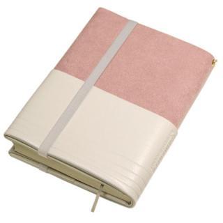 フリーサイズブックカバー アマネカ ピンク