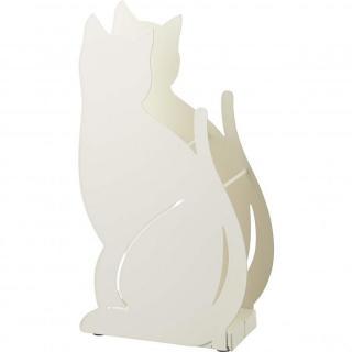 かさたて ネコ ホワイト