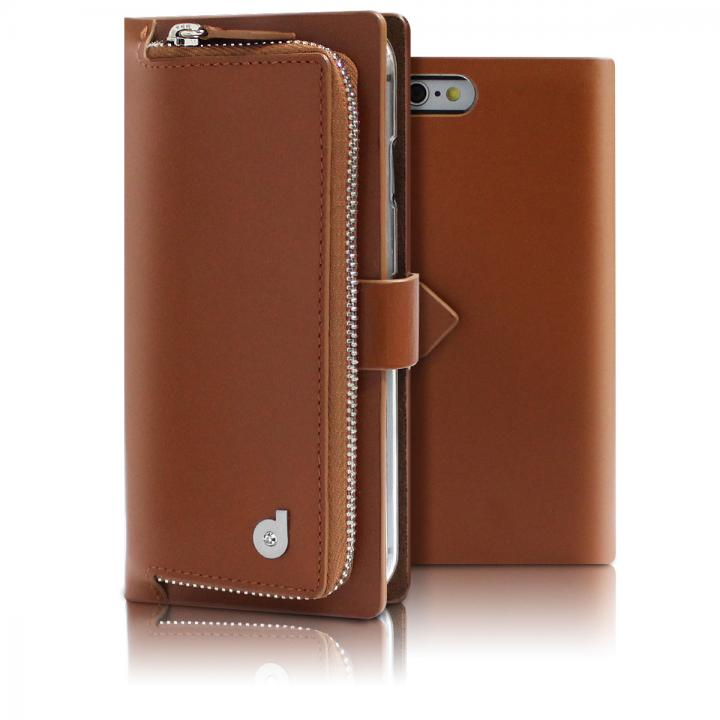 【iPhone6s/6ケース】お財布付き手帳型ケース Combi Jacket ブラウン iPhone 6s/6_0