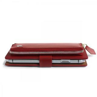 【iPhone6s/6ケース】お財布付き手帳型ケース Combi Jacket レッド iPhone 6s/6_2