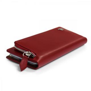 【iPhone6s/6ケース】お財布付き手帳型ケース Combi Jacket レッド iPhone 6s/6_3