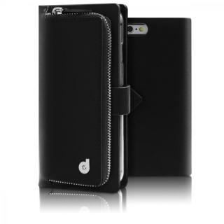 お財布付き手帳型ケース Combi Jacket ブラック iPhone 6s Plus/6 Plus