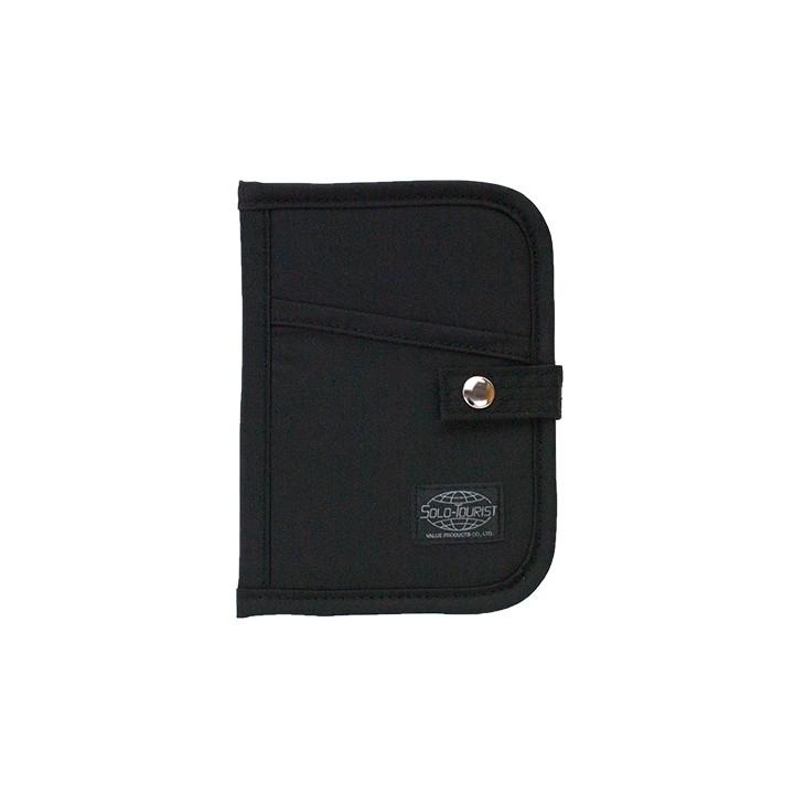 SG パスポートケース ブラック