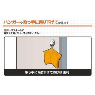 トラベルランドリーケース 防水タイプ オレンジ_4