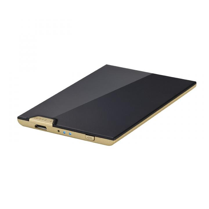 【1200mAh】 MiLi Power Visa Black/Gold モバイルバッテリー