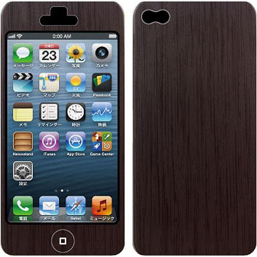 【iPhone SE/5s/5ケース】Nano Skin iPhone5 ウッド_0
