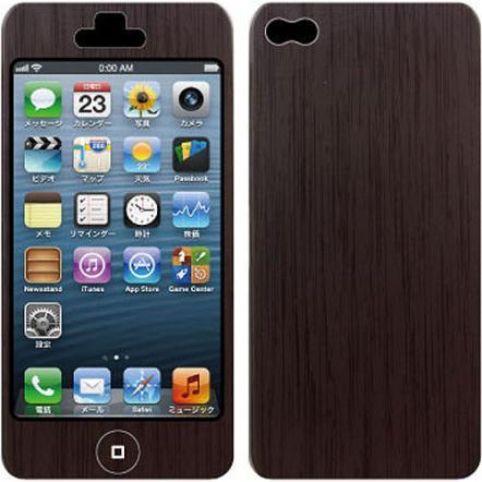 Nano Skin iPhone5 ウッド