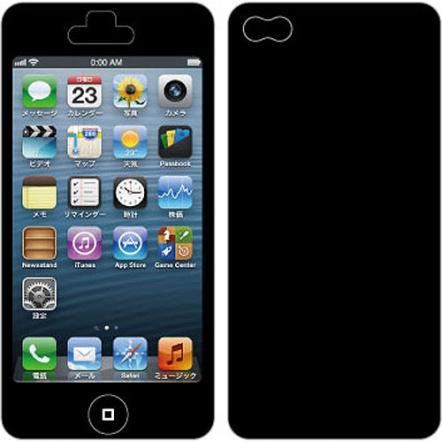 Nano Skin iPhone5 ブラック