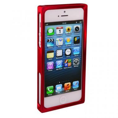 【iPhone SE/5s/5ケース】RECTA バンパーケース レッド iPhone 5/5sケース