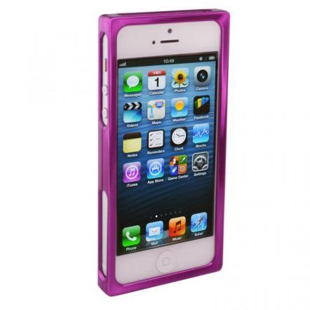 RECTA バンパーケース パープル iPhone 5/5sケース