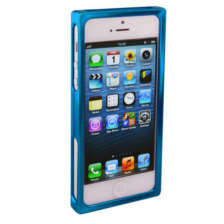 iPhone SE/5s/5 ケース RECTA バンパーケース ブルー iPhone 5/5sケース_0