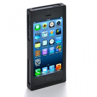 iPhone SE/5s/5 ケース RECTA バンパーケース ブラック iPhone 5/5sケース