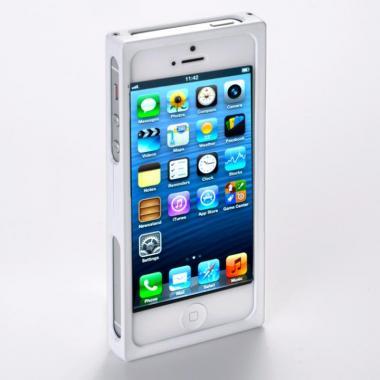 iPhone SE/5s/5 ケース RECTA バンパーケース ピュアホワイト iPhone 5/5sケース