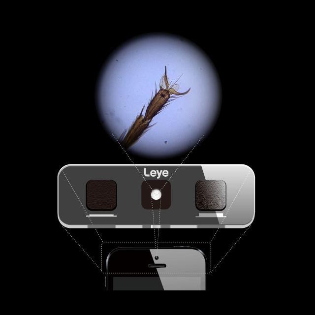 スマホ顕微鏡 Leye エルアイ iPhone 5s/5c/5/4s/4_0