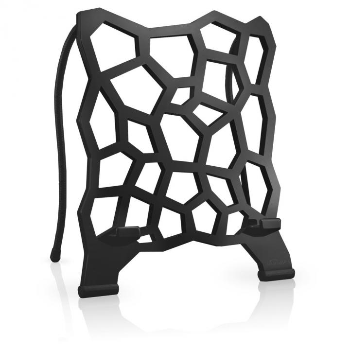 ユニークデザインタブレットスタンド STYLE-UP ブラック_0
