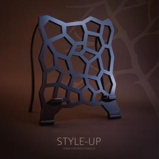 ユニークデザインタブレットスタンド STYLE-UP ブラック_1