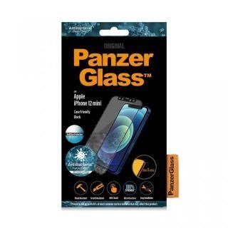iPhone 12 mini (5.4インチ) フィルム PanzerGlass アンチグレア AGC製ガラスフィルム 抗菌仕様 iPhone 12 mini