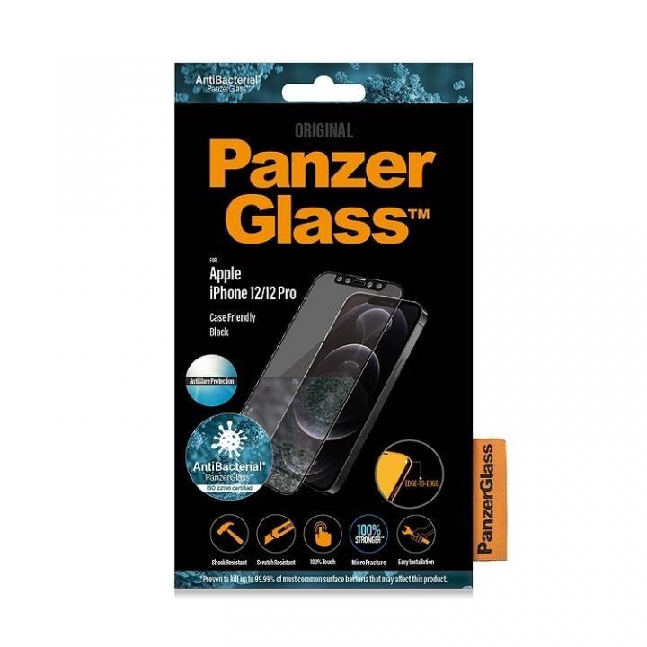PanzerGlass アンチグレア AGC製ガラスフィルム 抗菌仕様 iPhone 12 / 12 Pro【5月中旬】_0