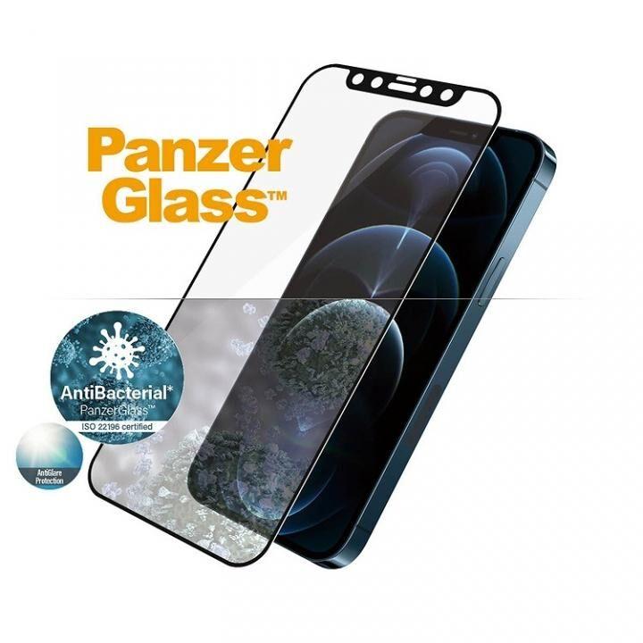 PanzerGlass アンチグレア AGC製ガラスフィルム 抗菌仕様 iPhone 12 Pro Max_0