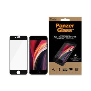 iPhone SE 第2世代 フィルム PanzerGlass AGC製ガラスフィルム 抗菌仕様 iPhone SE2/8/7/6【4月下旬】